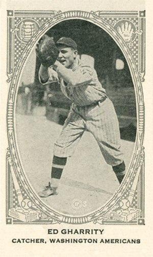 Patsy Gharrity - Image: Patsy Gharrity baseball card