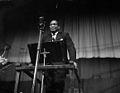 Paul Robeson yn Eisteddfod Genedlaethol Cymru, Glynebwy, 1958.jpg