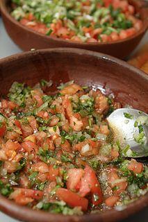 Pebre Chilean condiment