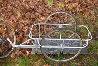 Bicycle trailer - Two-wheel trailer