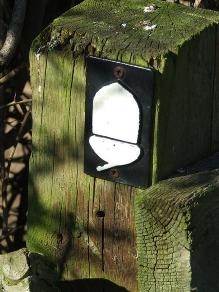 File:Peddars Way footpath symbol - geograph.org.uk - 686972.jpg