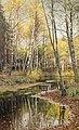 Peder Mork Mönsted Autumn in the birchwood.jpg