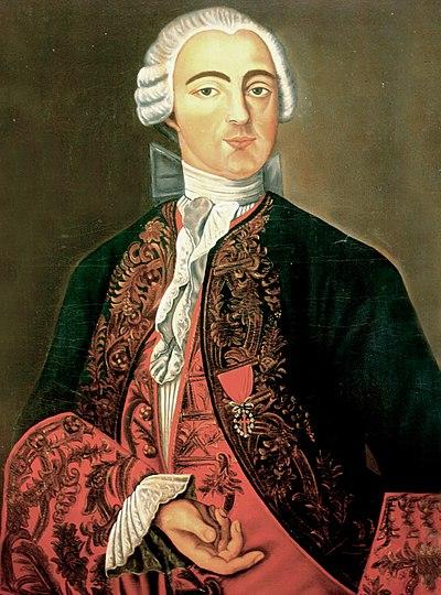 Pedro de Cevallos, retrato de autor anónimo