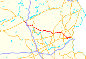 Pennsylvania Route 248 - Image: Pennsylvania Route 248 map