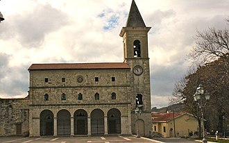 Pescina - Cathedral of Pescina