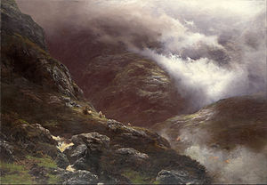 1692 in Scotland - After the Massacre of Glencoe (13 February), painted in 1889 by Peter Graham