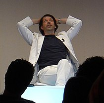 Peter Saville at i realize 2009, Turin.jpg