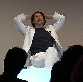 Peter Saville at i realize 2009, Turin.jpg