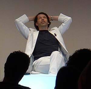 Peter Saville (graphic designer) - Peter Saville at i realize 2009, Turin