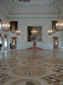 Интерьеры Большого дворца - Дворцы и усадьбы с Никитой