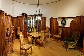 Adeline Oppenheim Guimard - Image: Petit Palais Salle à manger Maison Guimard 002