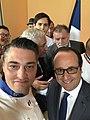 Philippe Geneletti avec François Hollande selfie.jpg