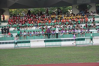 Saint Patrick's School, Singapore - St Patrick's School annual Sports Day at Bedok Stadium. Photo taken on 22 May 2014