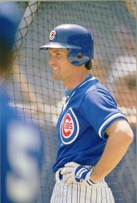 Pic of ryne sandberg from the early 90's