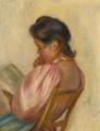 Pierre-Auguste Renoir - FEMME LISANT.PNG