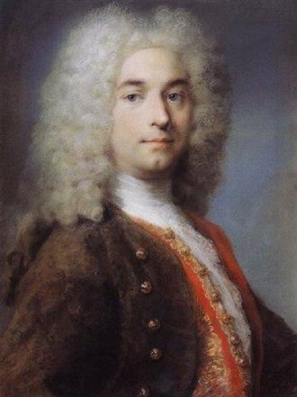 Pierre Crozat - Pierre Crozat, portrait by Rosalba Carriera