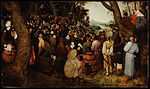 Pieter Bruegel the Elder - The Sermon of Saint John the Baptist - Google Art Project.jpg