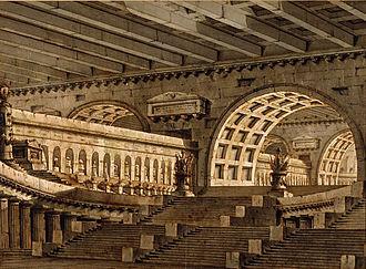 Pietro Gonzaga - Subterranean Mausoleum, 1780s, Art Institute of Chicago.