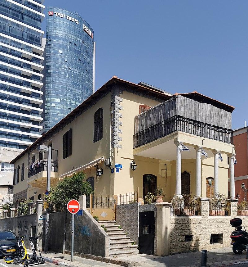 בית איזרסקי לילינבלום 11 תל אביב