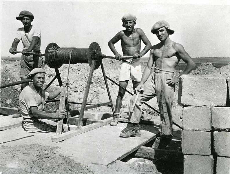חפירת הבאר הראשונה