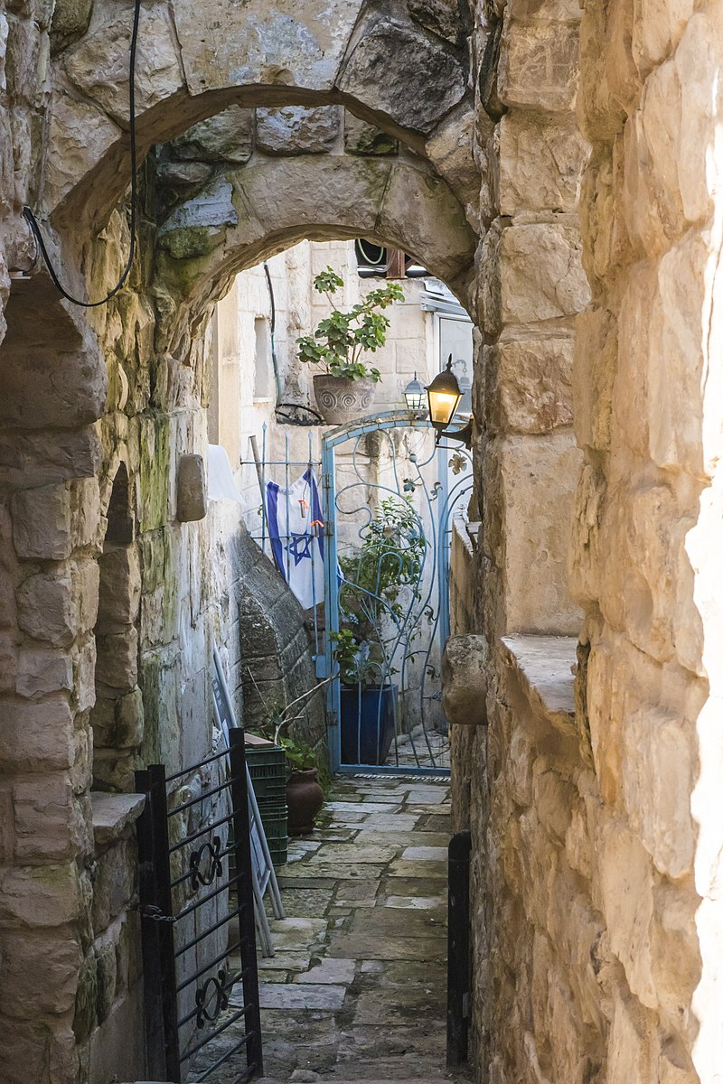 צפת העתיקה מבנה עתיק