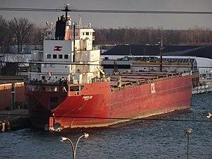 Pineglen - Image: Pineglen moored in Toronto, 2014 12 31 (3)
