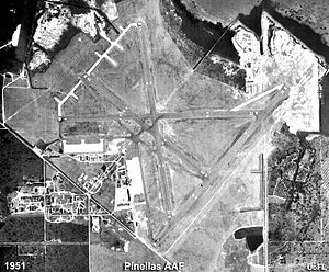 Pinellas Army Air Field - Pinellas Army Airfield - 1951