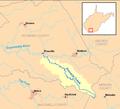 Pinnacle Creek map.png