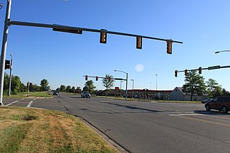 Pittsfield Charter Township, Michigan - Image: Pittsfield township carpenter road