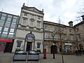 Pizza Express and Stafford Railway Building Society - Market Square, Stafford (32463375764).jpg