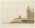 Planerad sjögård vid Skoklosters slott, från 1669 - Skoklosters slott - 98135.tif