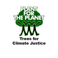 Das Logo der Plant-for-the-Planet-Initiative