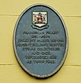 Plaque, Carrickfergus Town Hall - geograph.org.uk - 1505306.jpg