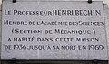 Plaque Henri Beghin bd Raspail.jpg