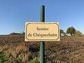 Plaque Sentier Chèquechaire - Saint-Cyr-sur-Menthon (FR01) - 2020-10-31 - 2.jpg