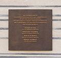 Plaque remembering Police victims Hitlers 1923 putsch Feldherrnhalle Munich.jpg