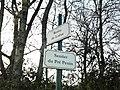 Plaques Route Loëze Sentier Pré Penin St Cyr Menthon 2011-11-11.jpg