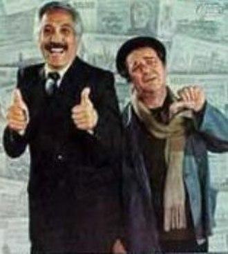 Plata dulce - Federico Luppi and Julio De Grazia in the movie's poster