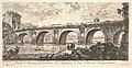 Plate 16- The Bridge at Rimini built by the Emperors Augustus and Tiberius (Ponte di Rimino fabbricato da Augusto e da Tiberio Imperatori), from Antichità Romane fuori di Roma MET DP827954.jpg