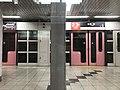Platform of Daigo Station from train of Tozai Line.jpg
