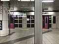 Platform of Nagitsuji Station from train of Tozai Line.jpg