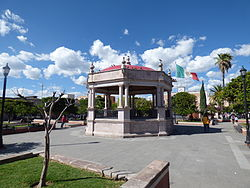 Town Square (Plaza Principal) of Calvillo