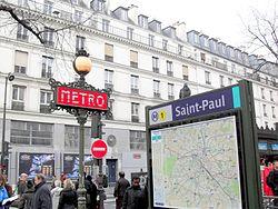 Saint-Paul (Métro Paris)