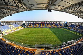 FC Petrolul Ploiești - Image: Ploiești Stadionul Ilie Oană 2