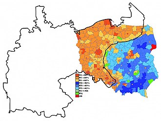 2007 Polish parliamentary election - Image: Poland 2007 election results