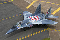 Polish Air Force Mikoyan-Gurevich MiG-29A (9-12A) Lofting-1.jpg