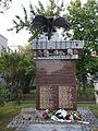 Pomnik poświęcony pamięci pomordowanym mieszkańcom Włodawy w latach 1945-1955.JPG