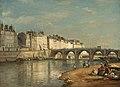 Pont de la Tournelle, Paris-1862-Stanislas Lepine.jpg