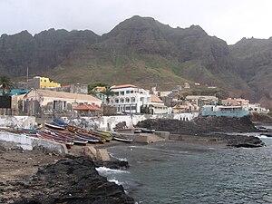 Ponta do Sol, Cape Verde - View of Ponta do Sol
