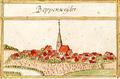 Poppenweiler, Ludwigsburg, Andreas Kieser.png